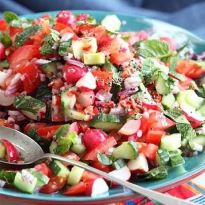 Saláty plné vitamínů